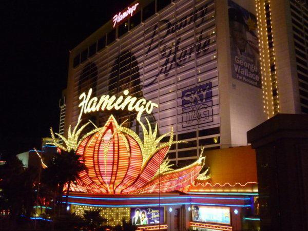 Neon Flamingo Hotel en Casino in Las Vegas