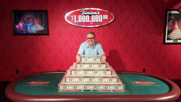 LasVegasNic en 1 miljoen dollar