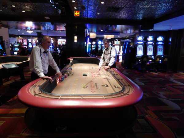 Crapstafel in The Golden Gate Casino