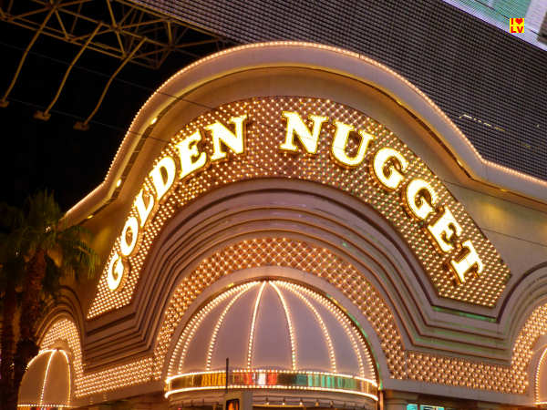 The Golden Nugget Hotel in Las Vegas