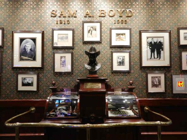 """Memorabilia van Samuel A. """"Sam"""" Boyd"""