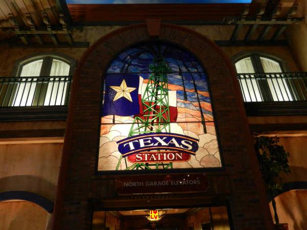 Binnen in het Texas Station