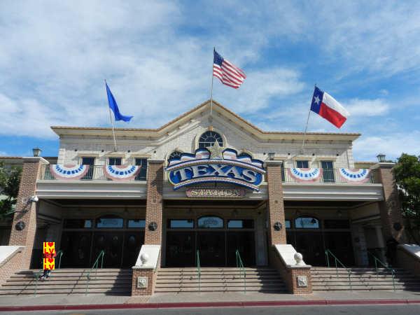Prachtige ingang Texas Station Casino