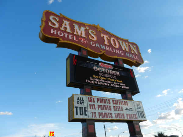 Sign Sam's Town Hotel & Gambling Hall