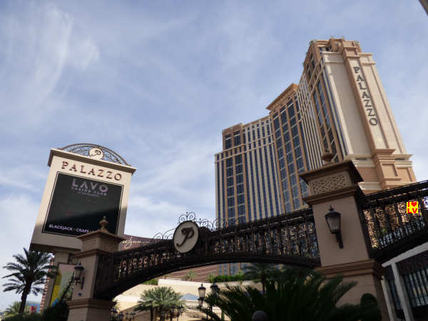 The Palazzo Hotel in Las Vegas
