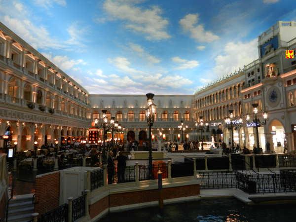 San Marco plein in het Venetian Hotel
