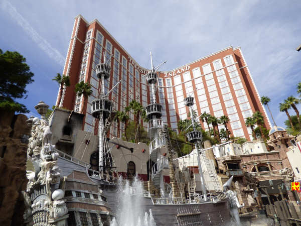 Treasure Island Hotel en Casino