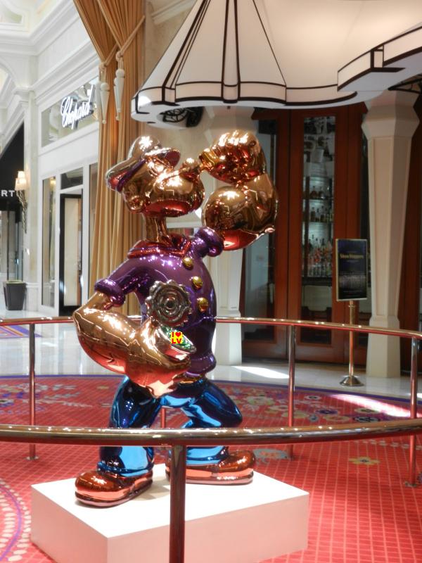 Popeye van Jeff Koons