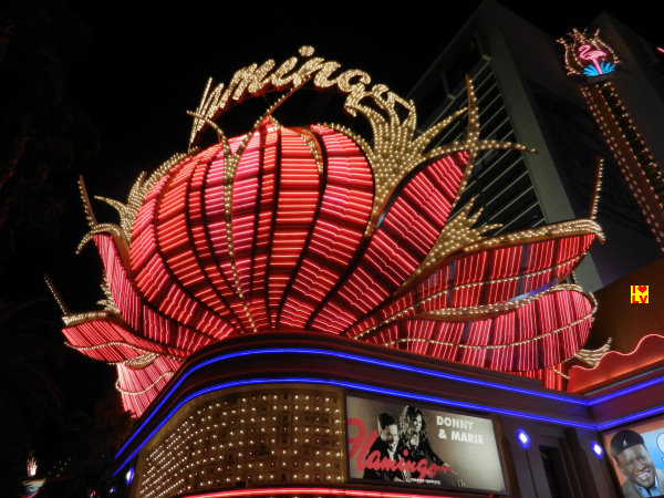 Flamingo Sign Las Vegas; één van de mooiste Sign's in Las Vegas