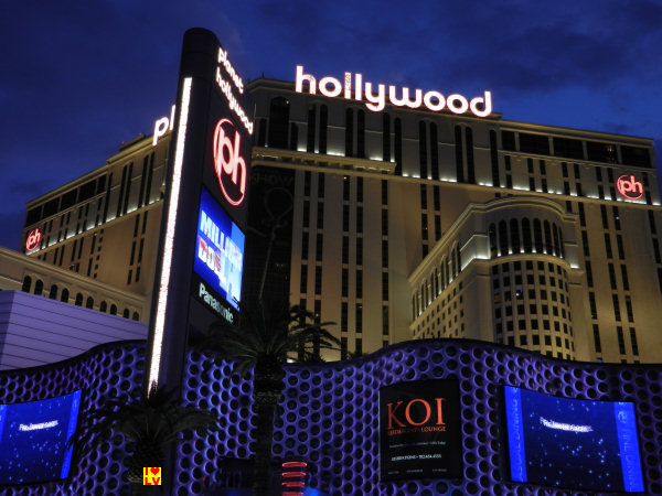 Hotel Planet Hollywood in Las Vegas!