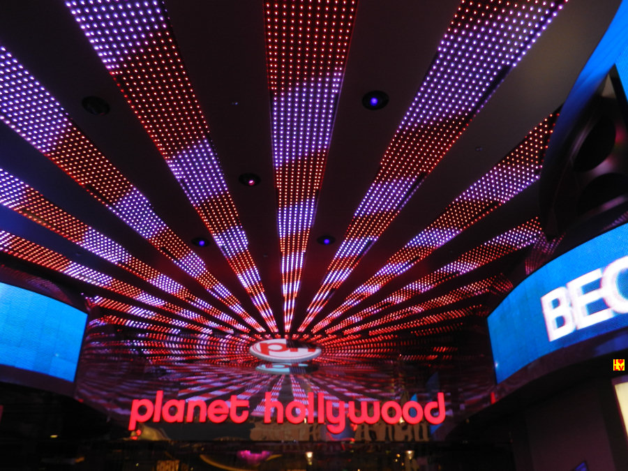 Ingang casino Planet Hollywood!