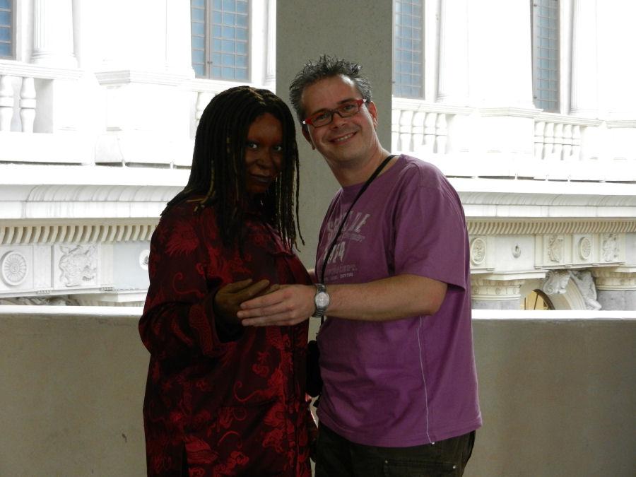 Samen met Whoopi op de foto. Bezoek het Madame Tussauds Las Vegas in het Venetian Hotel.