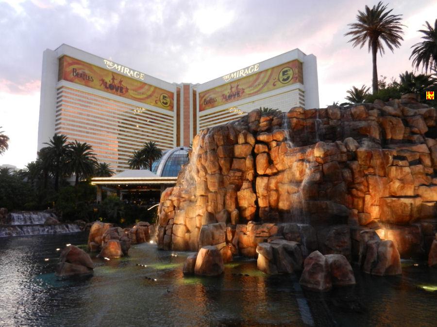 Lagoon voor The Mirage Hotel in Las Vegas