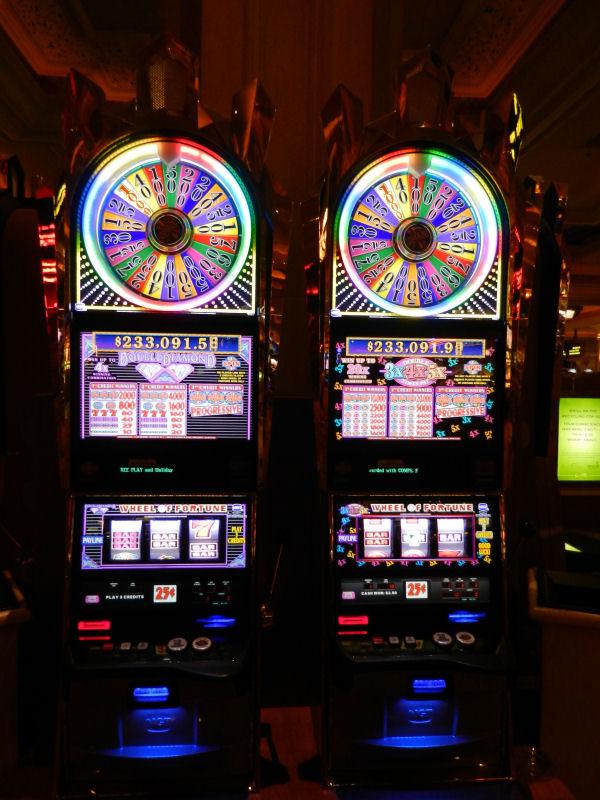 Wheel of Fortune gokkasten in het Mandalay Bay Casino