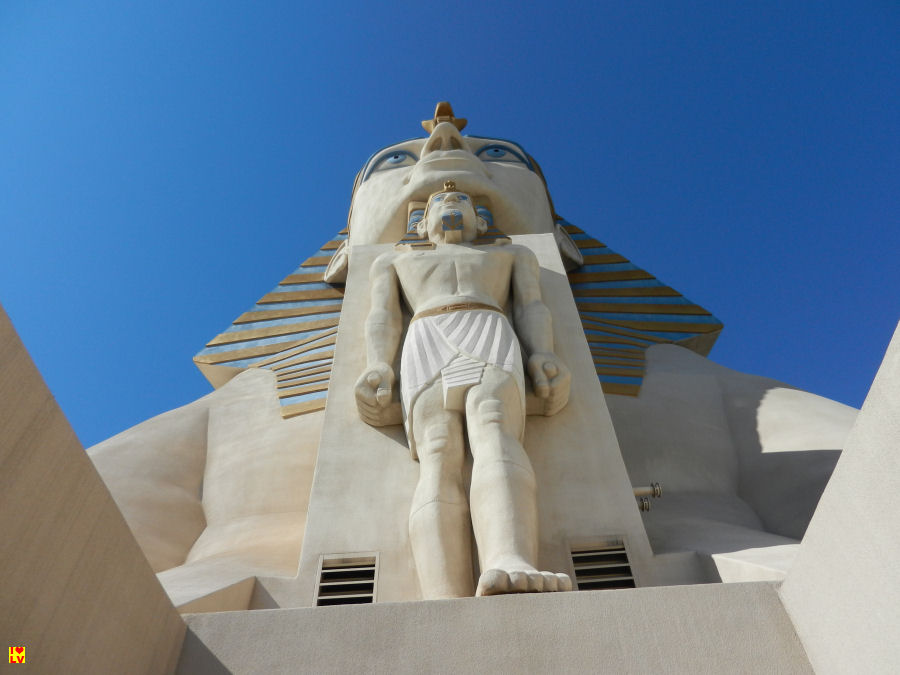 Foto Sphinx Luxor Hotel en Casino in Las Vegas