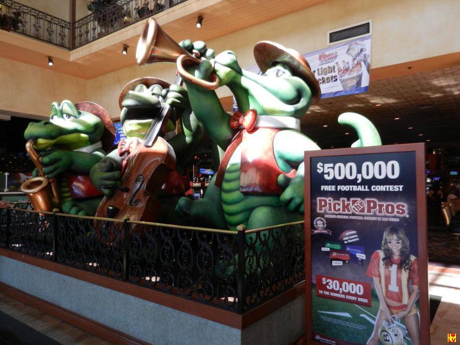 Foto alligators at The Orleans
