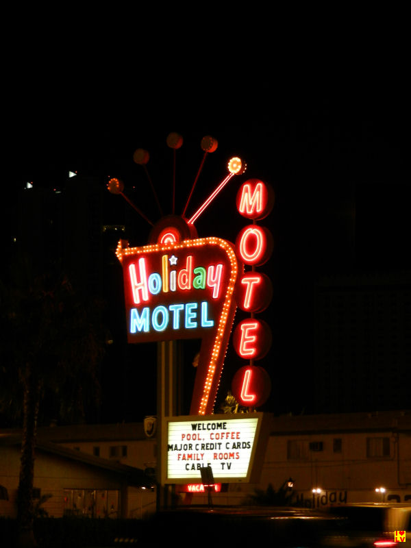 Holiday Motel bij het Stratospere Hotel in Las Vegas