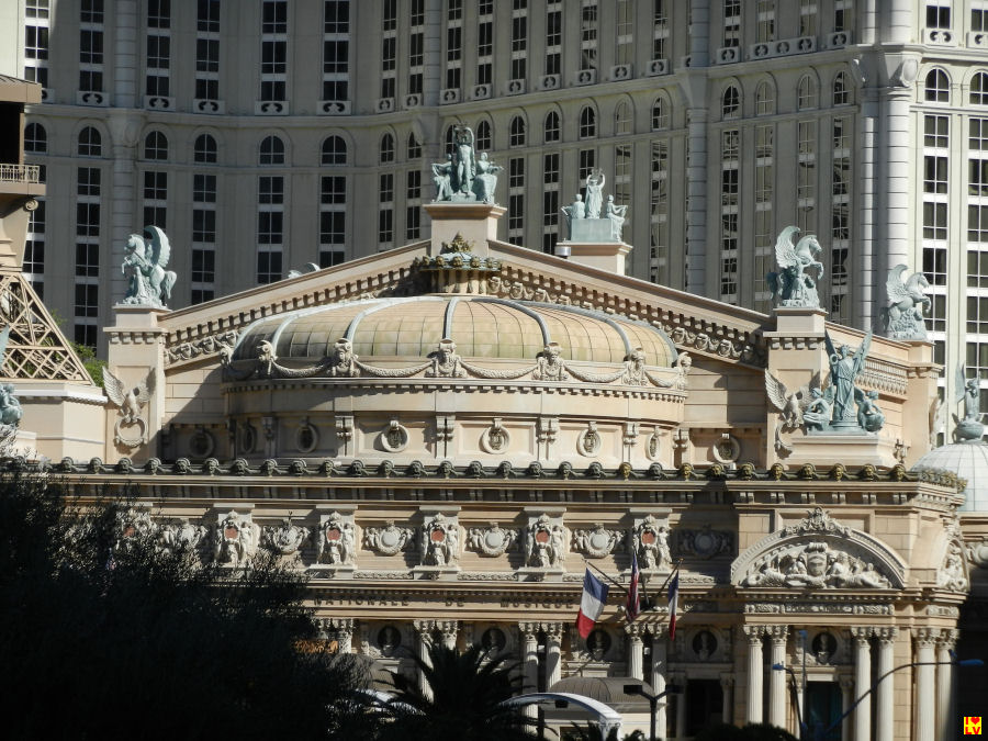 Het prachtige thema hotel Paris!
