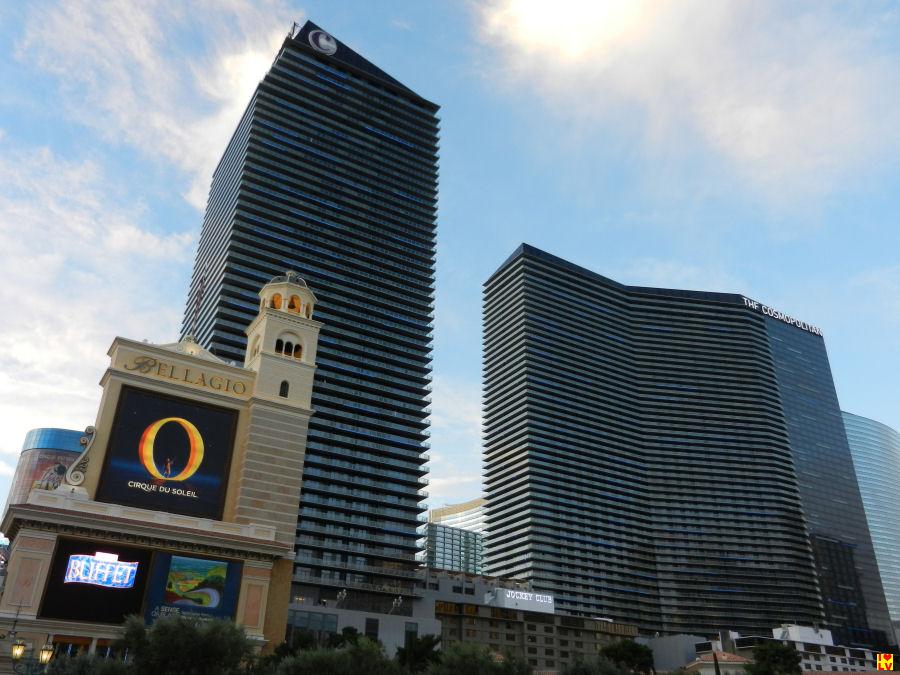 Het Cosmopolitan Hotel en Casino in Las vegas