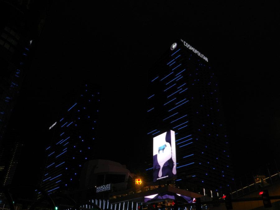 The Cosmopolitan Hotel in Las Vegas; mooi en luxe hotel.