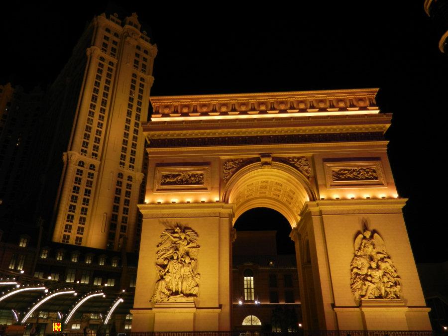 Arc de triomphe Paris Hotel Las Vegas!