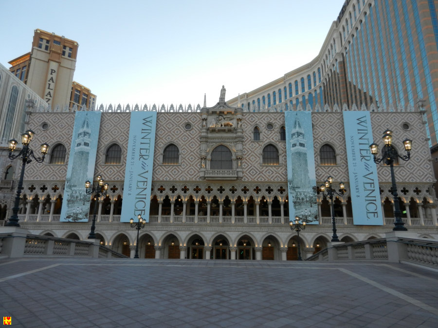 Het Venetian Hotel in Las Vegas.