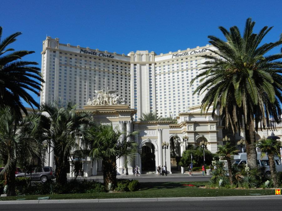 Monte Carlo Hotel en Casino in Las Vegas.