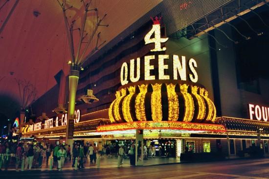 4 Queens Casino in Downtown Las Vegas