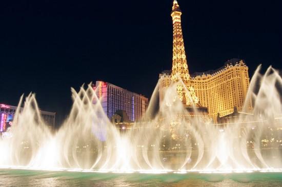 Fonteinen Show in Las Vegas