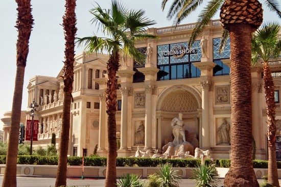 The Forum shops at Caesars Palace Hotel
