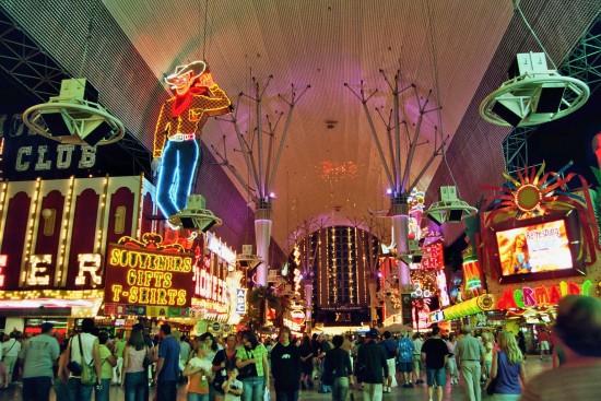 Vegas Vic in Downtown Las Vegas