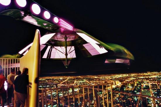 Attractie Insanity op de Stratosphere Tower