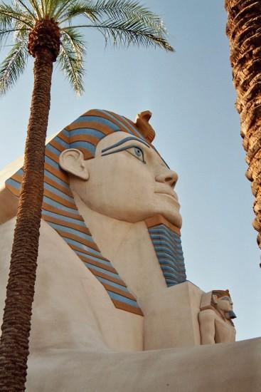 Prachtige Sphinx in Las Vegas