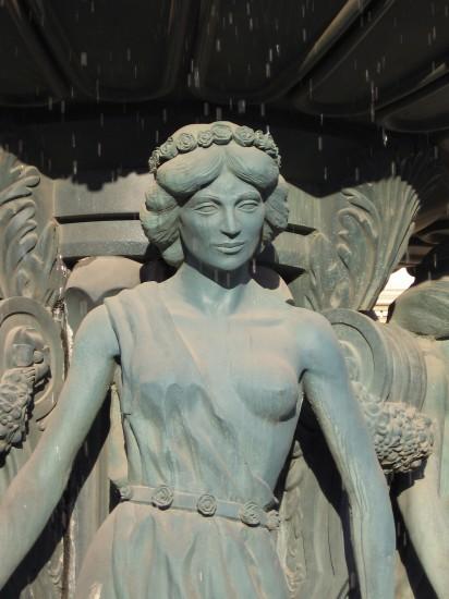 Fontein voor het Monte Carlo Hotel