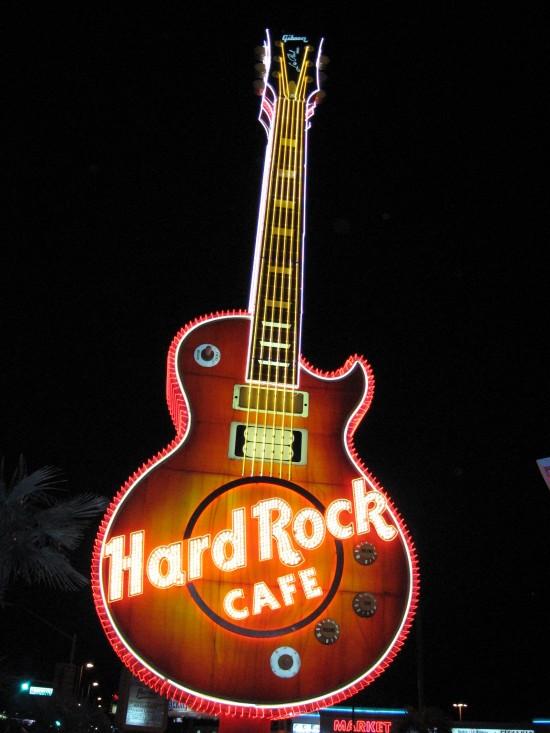 Gitaar Hard Rock Café in Las Vegas