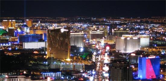 Uitzicht vanaf de Stratosphere Tower