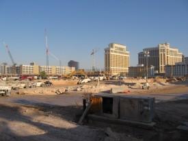 Flinke bouwput door project CityCenter
