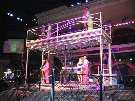 Dansact in het Rio Casino in Las Vegas