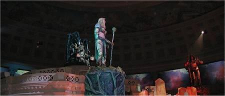 Spektakel bij de show Atlantis