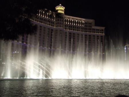 Watershow voor het Bellagio Hotel