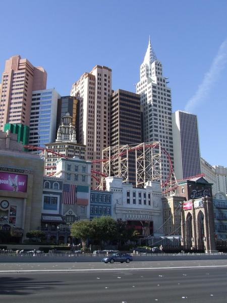 NY-NY Hotel in Las Vegas