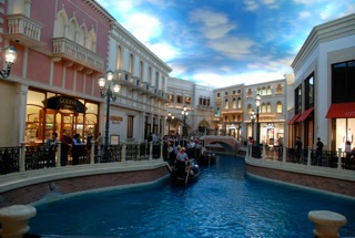 Gondoliers Venetian Hotel Las Vegas