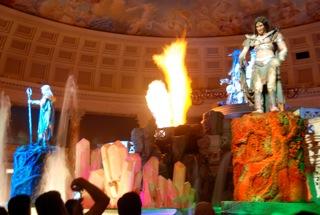 Atlantis show at the Forum Shops Las Vegas