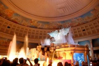 Show Atlantis in de forum Shops van Caesars Palace