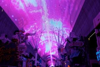 Led-show Fremont Street Experience Downtown Las Vegas