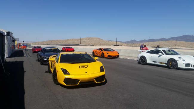 Racen in Las Vegas