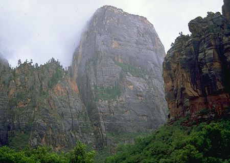 Great White Throne in Zion